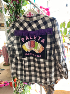 Upcycled Shirt: Paleta Parade