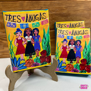 'Tres Amigas' Canvas Art Print