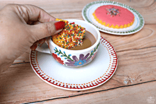 Mexican Embroidery-inspired Tea Set