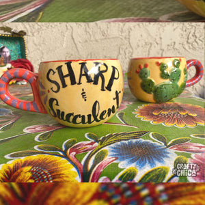 Sharp & Succulent Mug