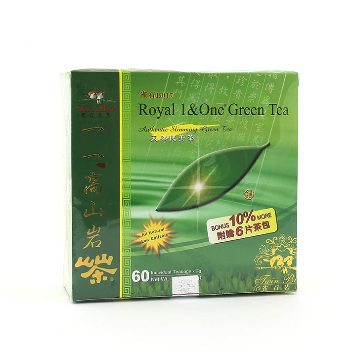 Royal 1&One® Green Tea (60 Tea bags) | Wing Hop Fung