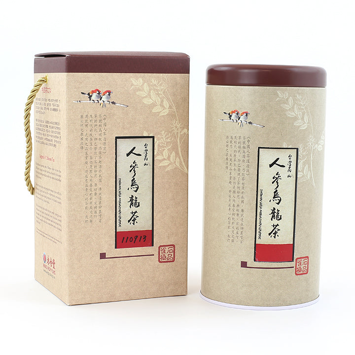 Taiwan Premier Ginseng Oolong Tea(8 oz/Tin)