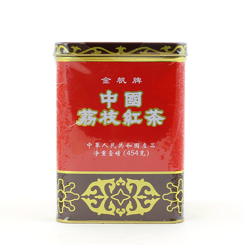 Golden Sail Brand Lichee Black Tea (16oz)