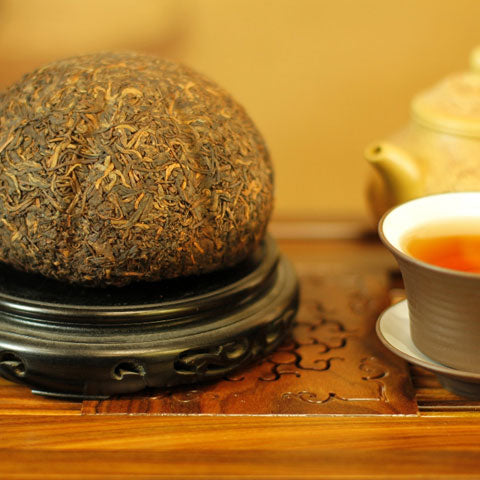 Gold Melon Tribute  Pu'er Tea (500g)