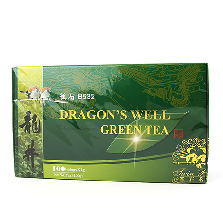 Dragon's Well Green Tea Bag (100 bags/box)