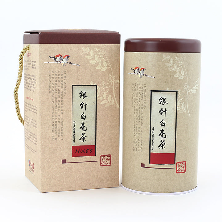 Baihao Yinzhen Silver Needle White Tea (3 oz/Tin)