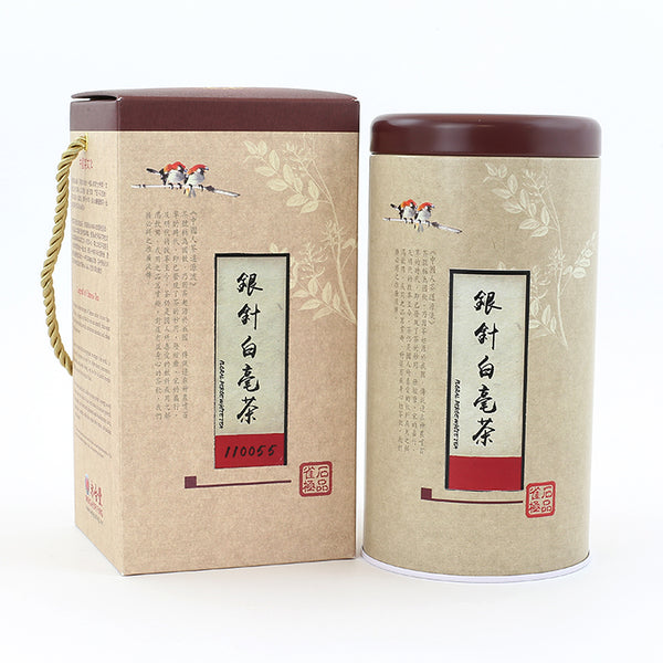 Baihao Yinzhen/White Hair Silver Needle White Tea (3OZ/TIN)