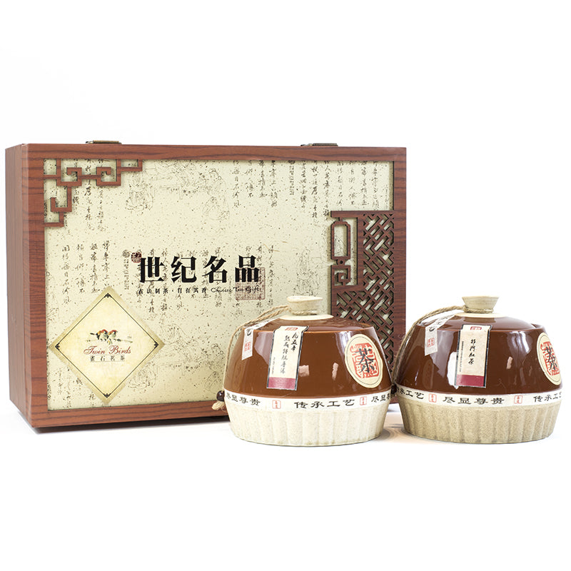 WHF Famous Pu'er & Black Tea  Gift Box