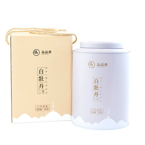 PPX Peony( Bai Mudan) White Tea 3 Years Old (300g/Tin)