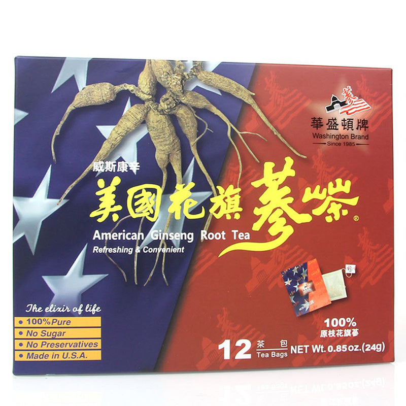 American Ginseng Root Tea (12 Teabags)