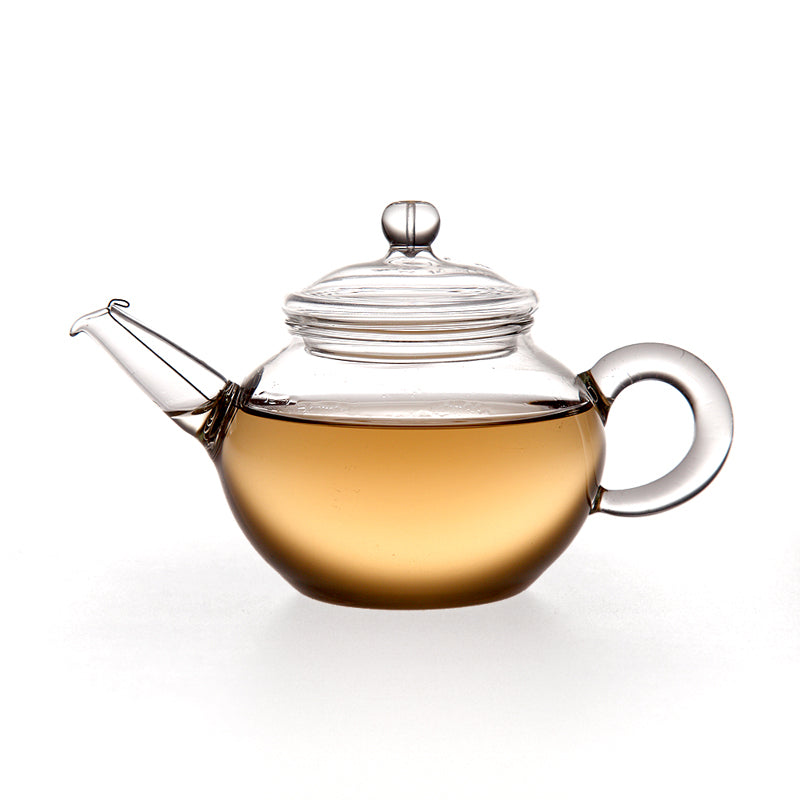 Chikao CK-099M/CK-099L Hand-Made Glass Teapot (150ml/200ml)