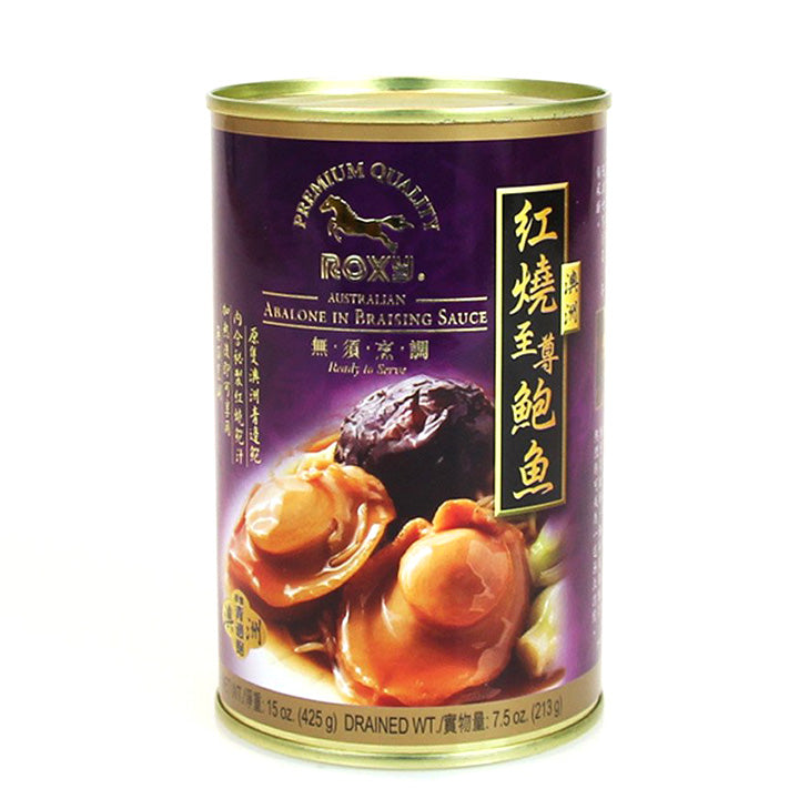 Roxy Australia Braised Abalone(425 g/Can)