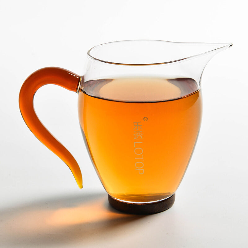 Lotop Glass Tea Divider Cup