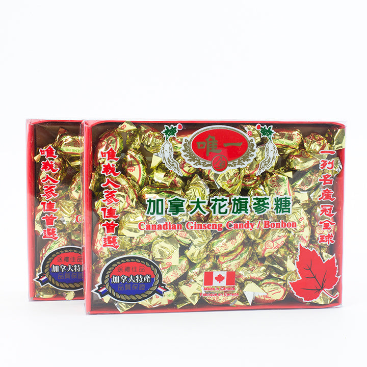 【Unique】Canadian Ginseng Candy/ Bonbon 唯一 花旗参糖