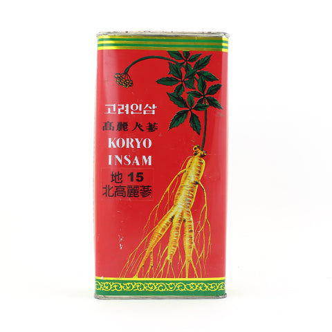 North Korean Ginseng/Koryo Insam (Ground 15)