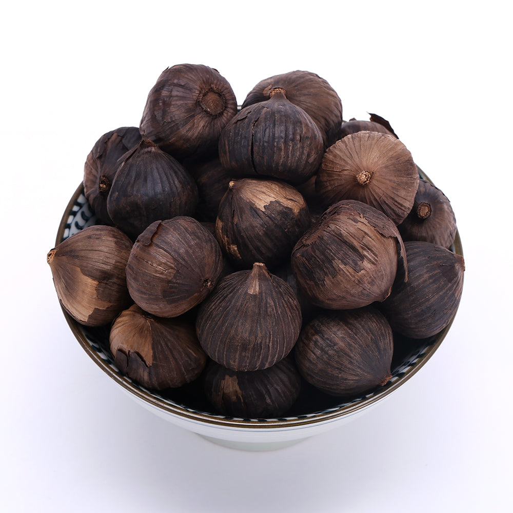 Organic Fermented Single Clove Black Garlic (250 g)