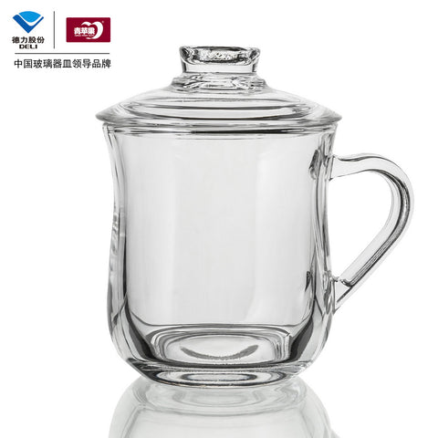 Qing Ping Guo EZ1013 Glass Tea Cup(300ml)