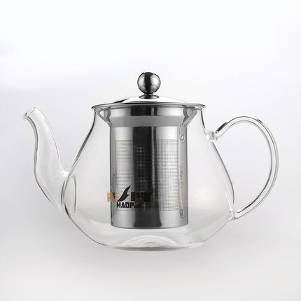 Haopai HP-851 Hand-Made Glass Teapot with filter(700ml)
