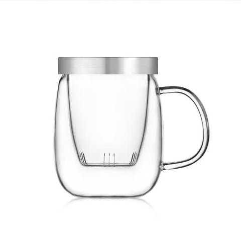 Sama Doyo S-016B Three-part-cup Heat Resistant Glass(500ml)