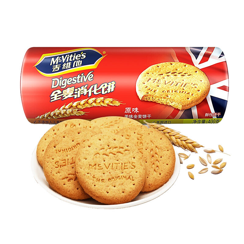 McVITIES DIGESTIVE BISCUITS (400g)
