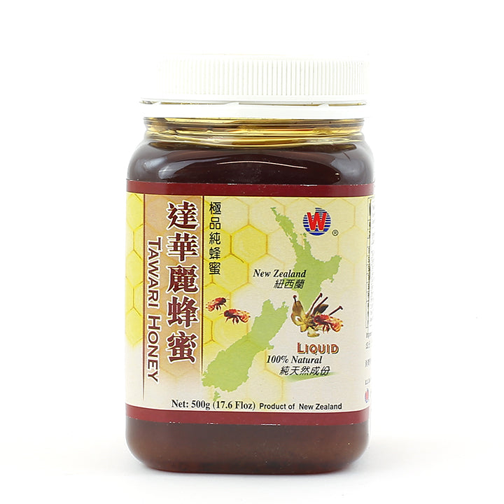 WHF Tawari Honey - Liquid (500g)
