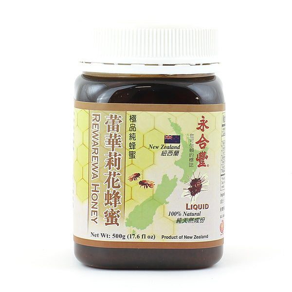 WHF Rewarewa Honey - Liquid (500g)