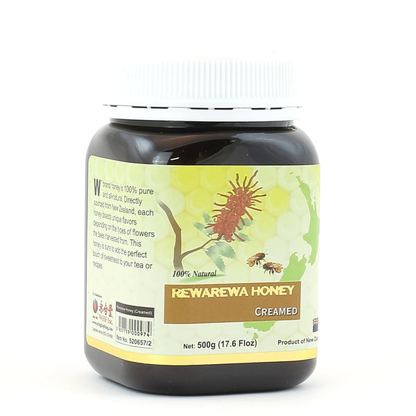 WHF Rewarewa Honey - Creamed (500g)