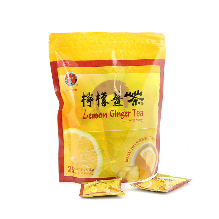 【永合丰】即溶柠檬姜茶 Instant Natural Lemon Ginger Tea with honey