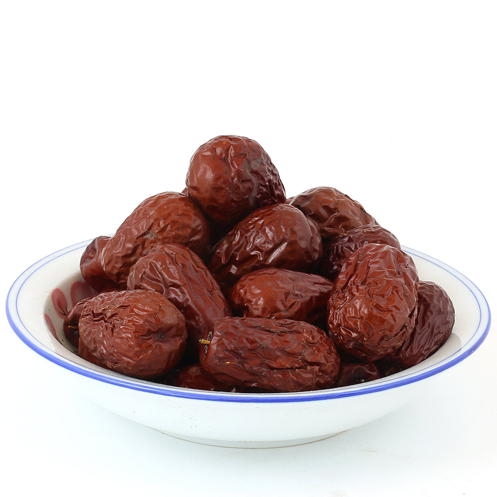 Chinese Big Red Dates/ Jujube  (16 oz/Bag)