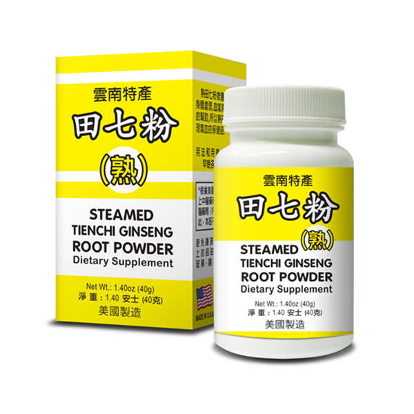 Steamed Tienchi Ginseng Root Powder