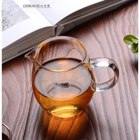 Chikao CK-135L Hand-Made Glass Tea Cup(360 ml)
