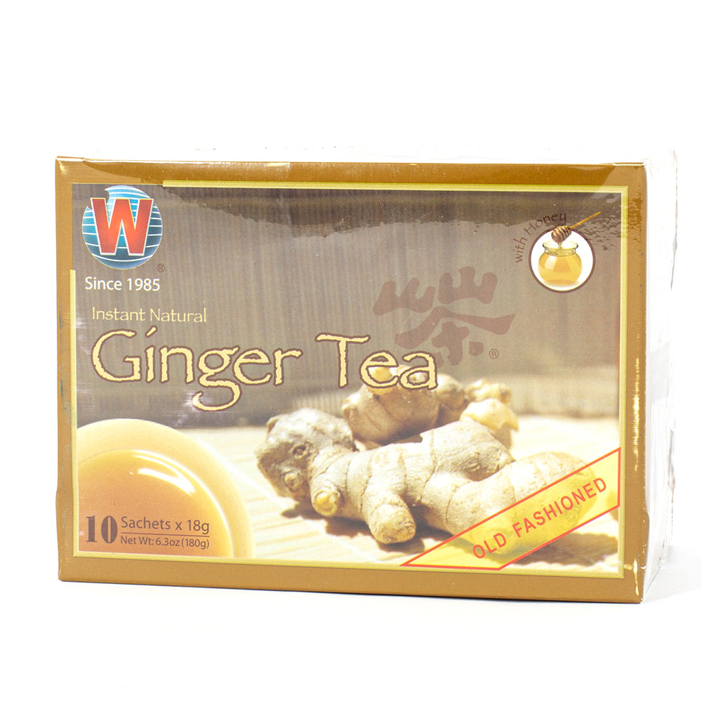 Instant Natural Ginger Tea with Honey (10 sachets)