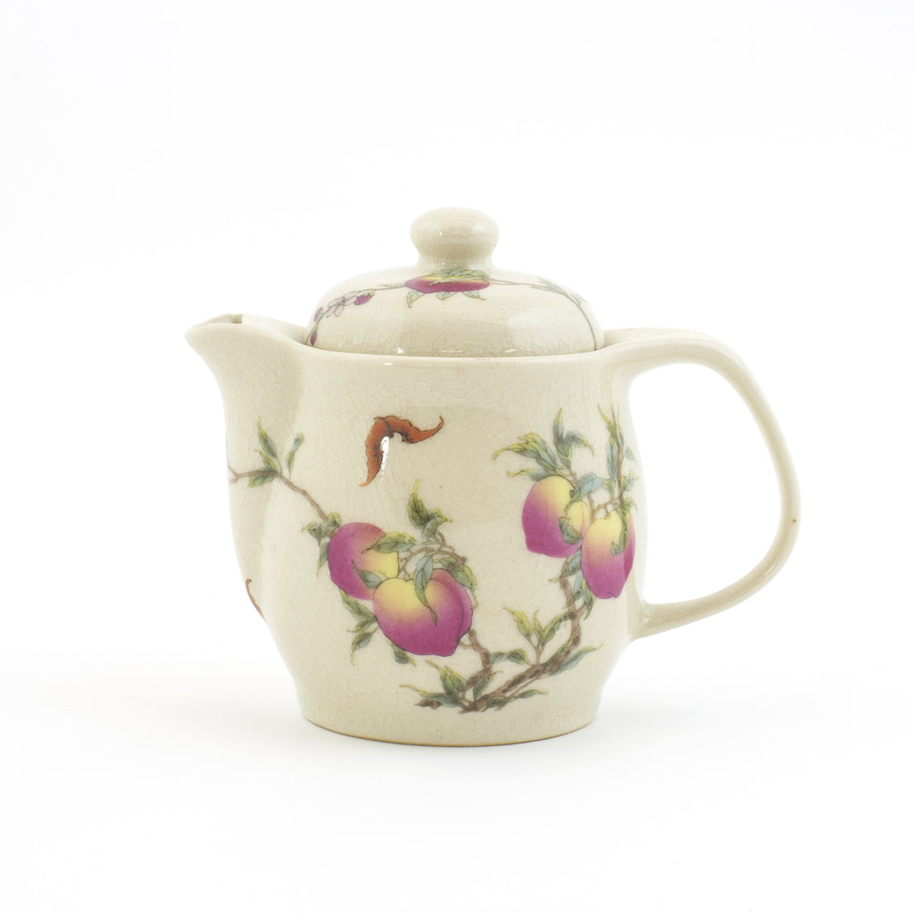 Peach King Tea  Pot