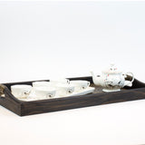 Shrimp ceramic whiteware Porcelain Tea sets (8 pcs)