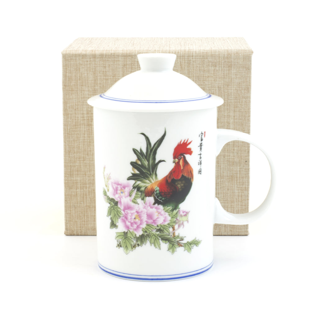 Chanticleer Porcelain Tea Cup