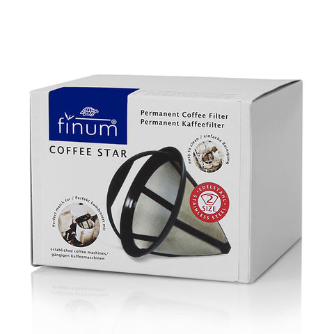 Finum Coffee Star Permanent Filters No.2