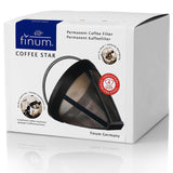 Finum COFFEE STAR PERMANENT FILTERS NO.4