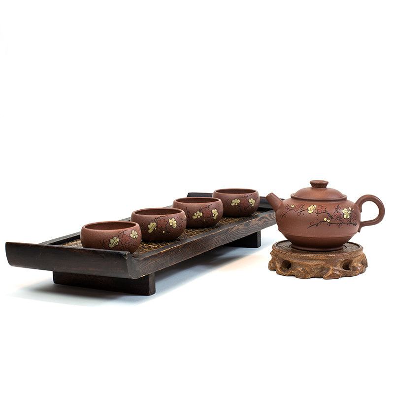 Yixing Hand-made Purple Clay (Zi Sha) Tea Set Anxiang