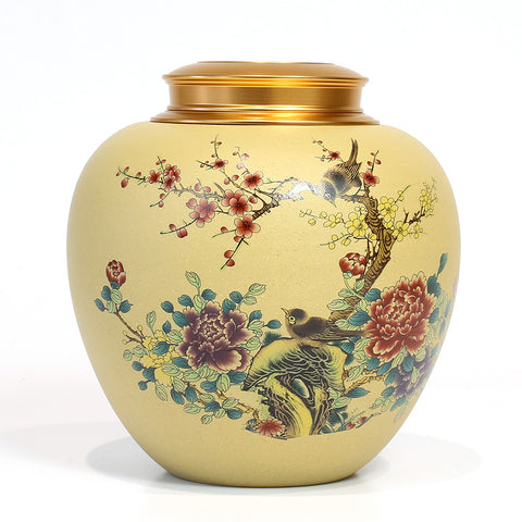 Hand made ceramic Tea Container