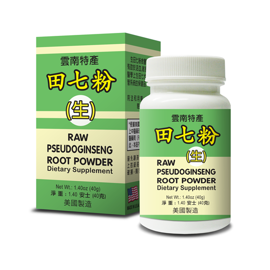 Raw Tienchi Ginseng Powder