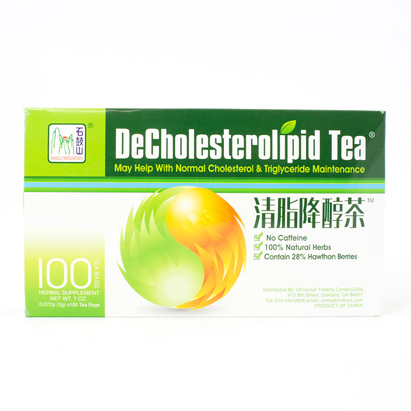 Shigu Mountain DeCholesterolipid Tea(100 Tea Bags)
