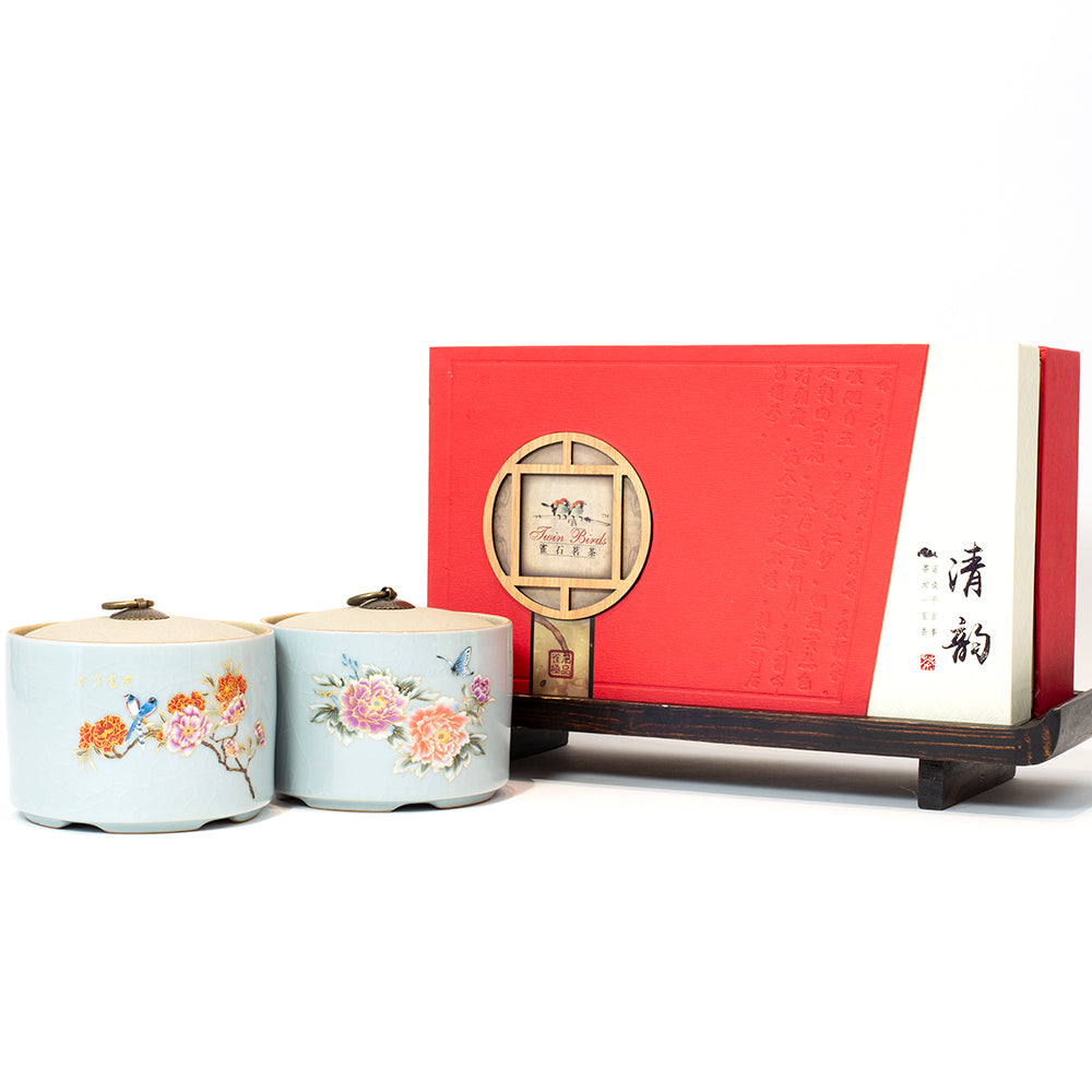 WHF Premium Pu'er Tea Love of Butterfly Gift Box