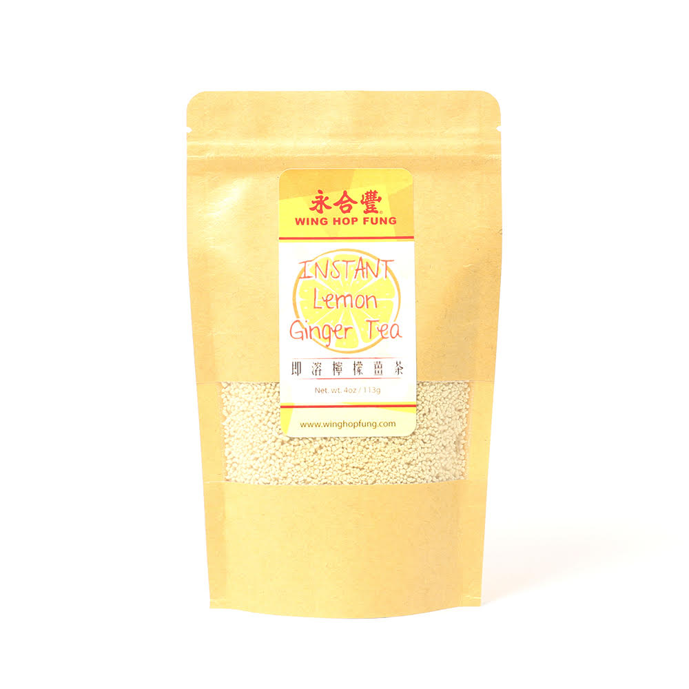 Natural Instant Lemon Ginger Tea 4oz