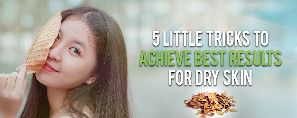 5 Little Tricks to Achieve Best Results For Dry Skin