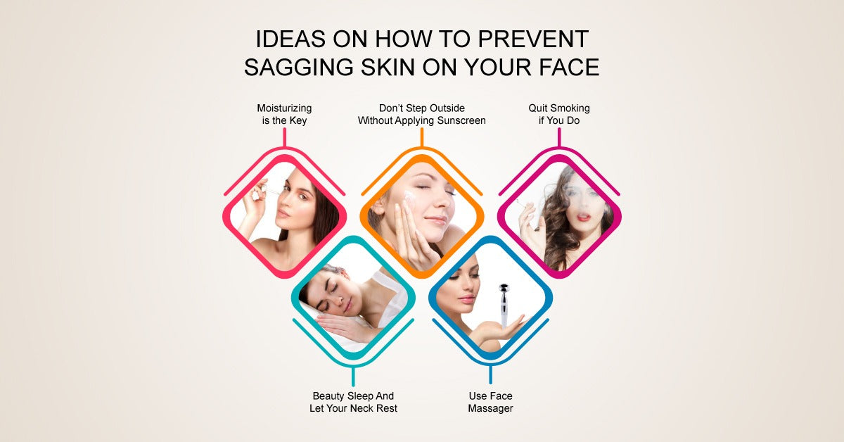 Brief Ideas on How to Prevent Sagging Skin on Your Face