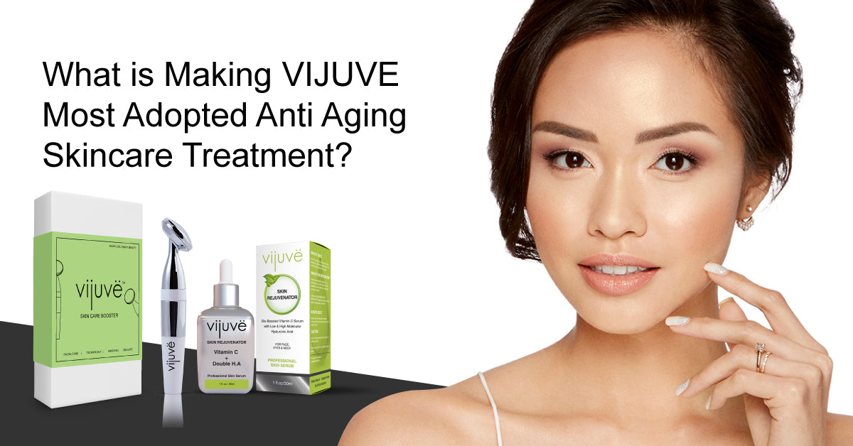 What is Making VIJUVE Most Adopted Anti Aging Skincare Treatment?