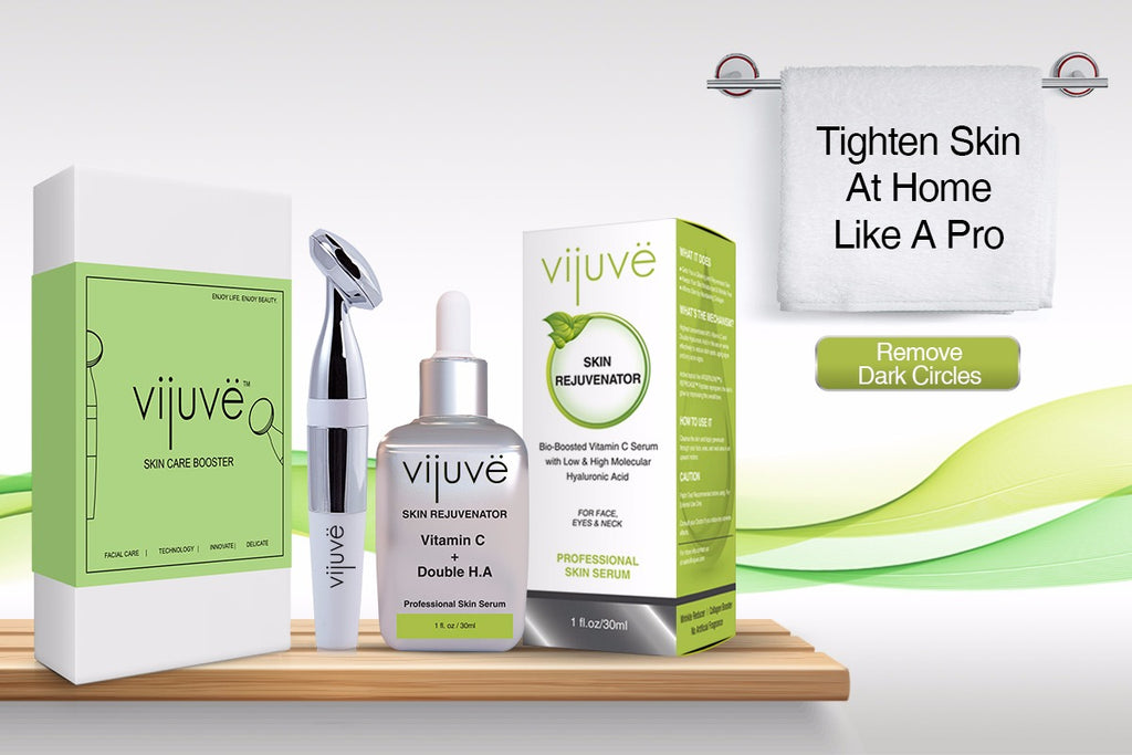 VIJUVE Face Massager and Serum