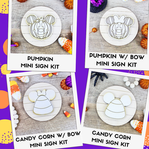 Mini DIY Sign Kit - Halloween
