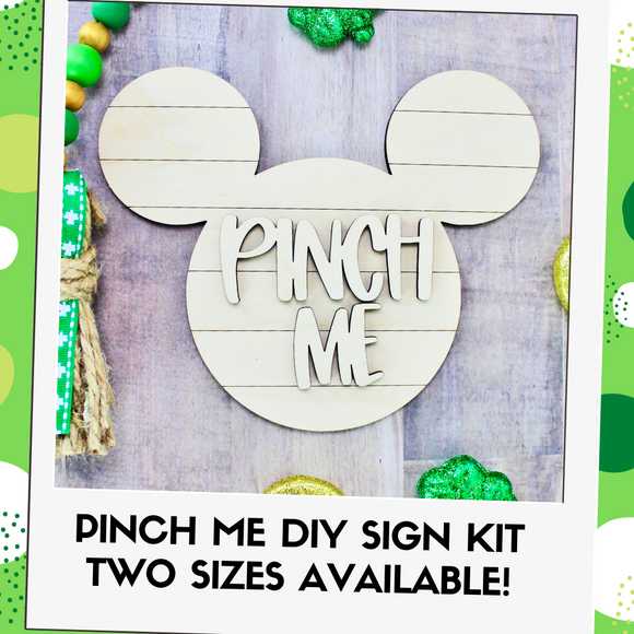 Pinch Me Sign DIY Kit - Two Sizes Available!