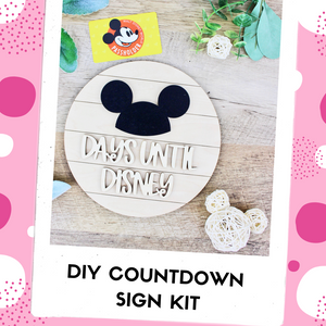 Park Trip Countdown DIY Kit